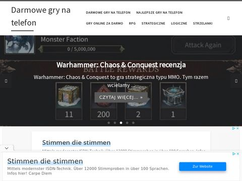 Grynatelefon.net - gry na telefon