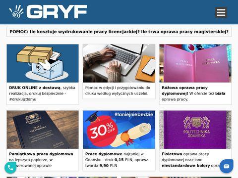 Tabliczki znamionowe Gdynia Gdańsk
