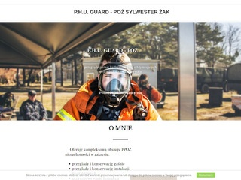 Guardpoz.pl legalizacja gaśnic PPOŻ świętokrzyskie