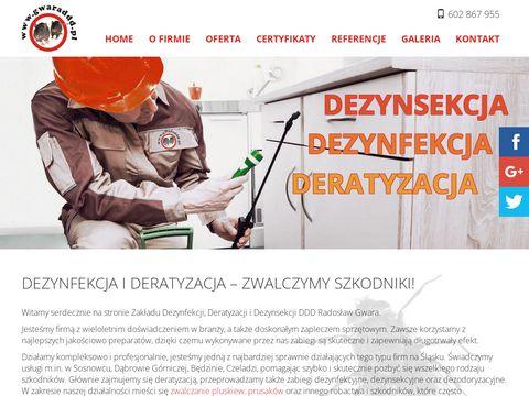 Radosław Gwara Dezynfekcja mieszkań