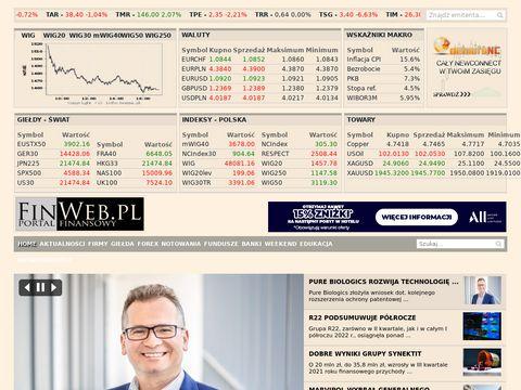 Finweb.pl - Portal Finansowy
