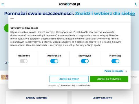 Finanse.rankomat.pl - porównywarka lokat