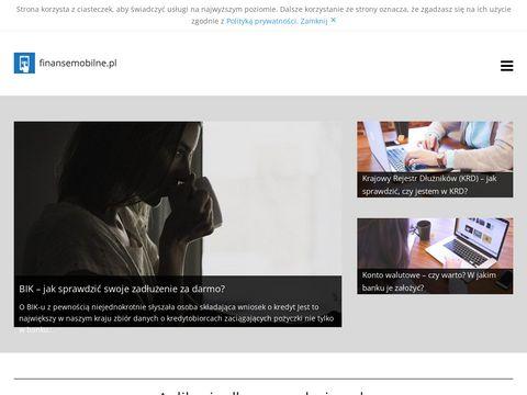 Finansemobilne.pl aplikacje finansowe