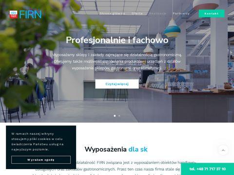 Firn urządzenia gastronomiczne Wrocław