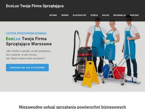 Ecolux czyszczenie pranie dywanów na sucho Warszawa