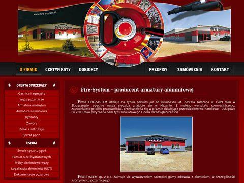 Fire-system.pl - armatura pożarnicza