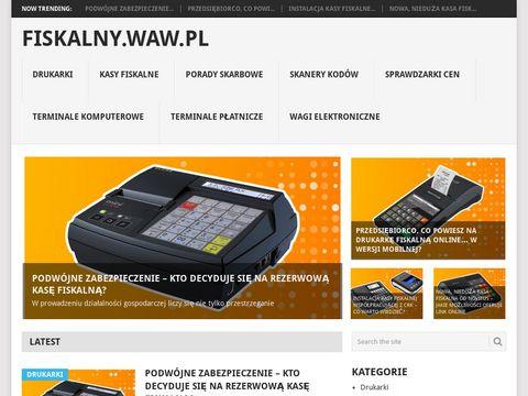 Fiskalny.waw.pl - kasy i drukarki