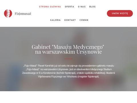 Fizjomasaz.com.pl Warszawa Ursynów