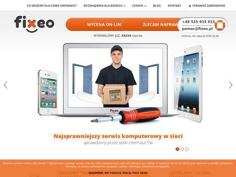 Fixeo.pl serwis napraw, telefonów, tabletów