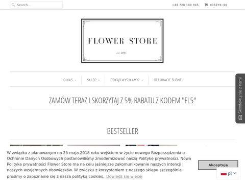 Flowerstore.pl pudełko z kwiatami Warszawa