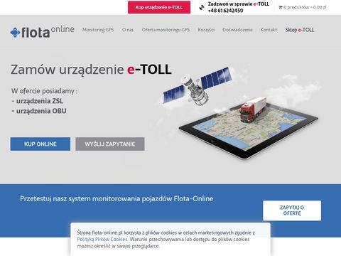 Flota-online.pl monitoring pojazdów