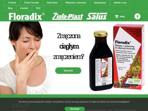 Floradix.pl niedokrwistość z niedoboru żelaza