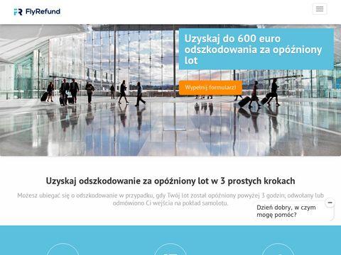 Flyrefund.pl rekompensata za odwołany lot