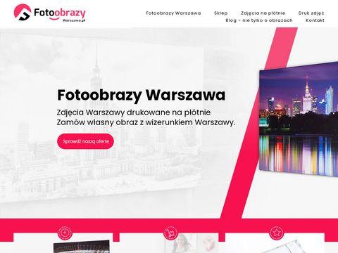 Fotoobrazy.warszawa.pl na płótnie