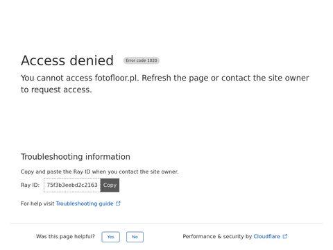 Fotofloor.pl - podłogi 3d