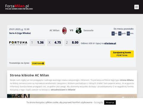 ForzaMilan.pl - strona kibiców AC Milan