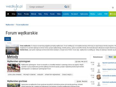 Forum.wedkuje.pl - portal wędkarski