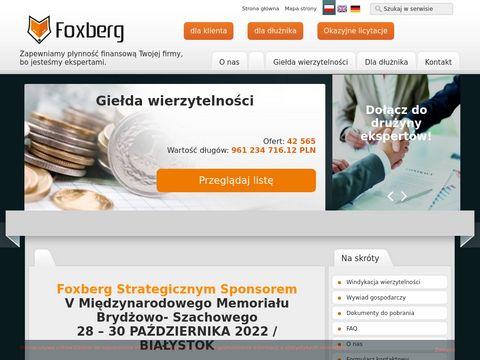 Firma windykacyjna Foxberg
