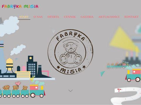 Fabrykamisia.pl animator dla dzieci Białystok