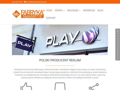 Fabryka Reklamy Łódź