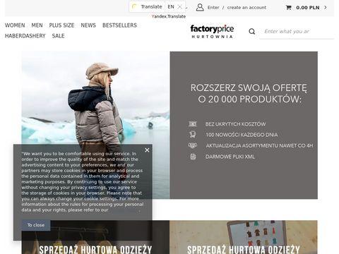 Factoryprice.pl ubrania damskie sklep internetowy