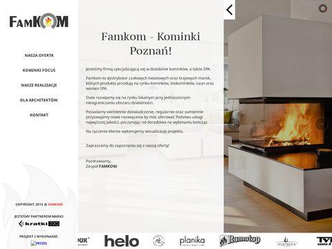 Famkom - profesjonalne kominki Poznań