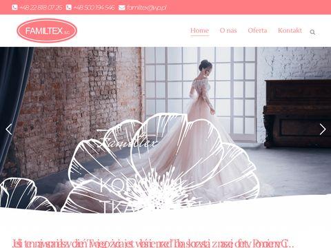 Familtex - Hurtownia ślubna