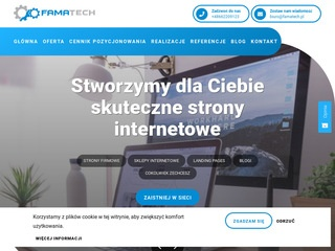 Famatech.pl projektowanie stron internetowych