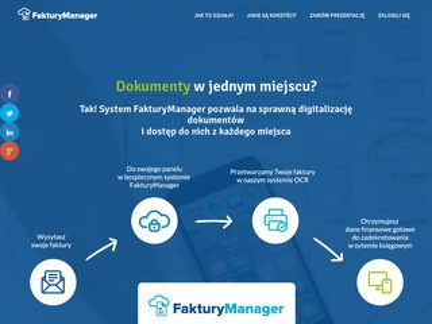 Fakturymanager.pl - archiwizacja dokumentów