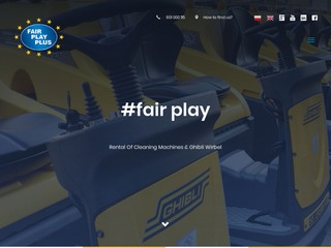 Fairplayplus.pl maszyny sprzątające