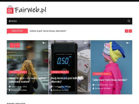 Fairweb.pl strony internetowe Częstochowa