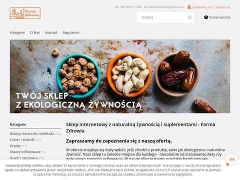 Farmazdrowia24.pl ekologiczna żywność