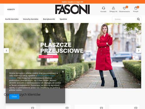 Fasoni.pl modne i oryginalne kurtki