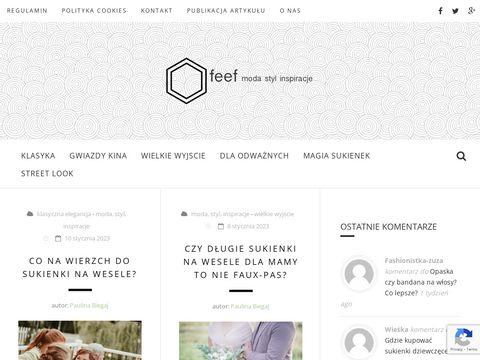 Feef.pl bądź modna - zajrzyj na blog