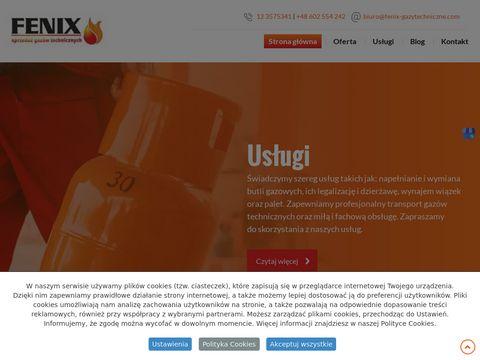 Fenix butle gazowe Kraków
