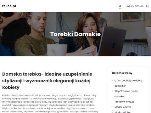 Felice.pl - Torebki Damskie sklep online