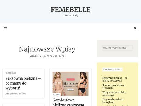 Femebelle.pl Bielizna Damska