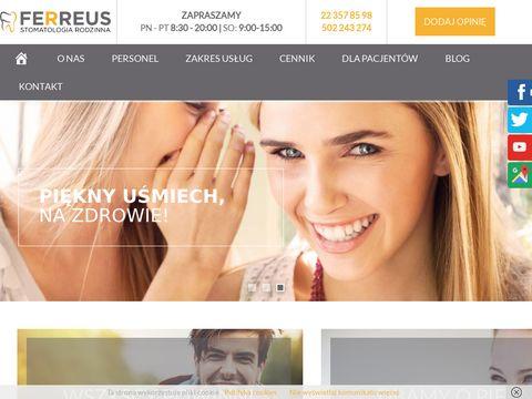 Ferreus sp. z o.o. stomatolog rodzinny Warszawa