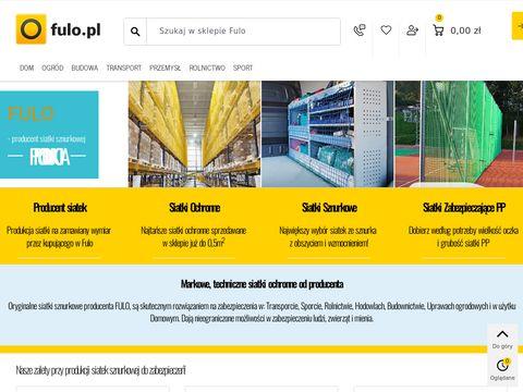 Fulo.pl - siatka zabezpieczająca