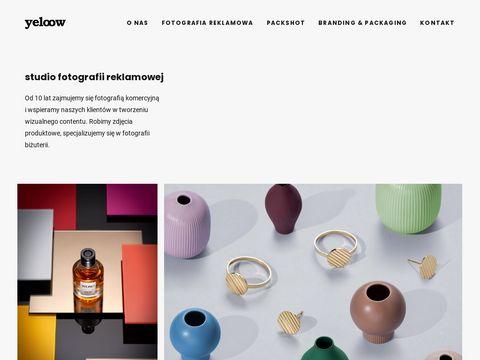 Yeloow.pl fotografia reklamowa zdjęcia biżuterii