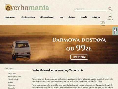 Yerbomania.pl sklep internetowy z Yerba Mate