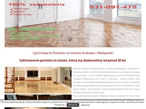Cyklinowaniekraków.pl parkiety, podłogi