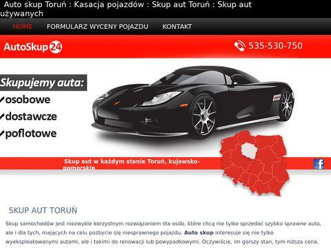Skupaut-toruń.pl zlomowanie