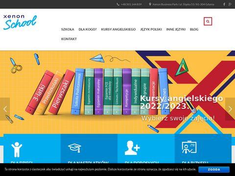 Xenon-school.pl - szkoła języka angielskiego