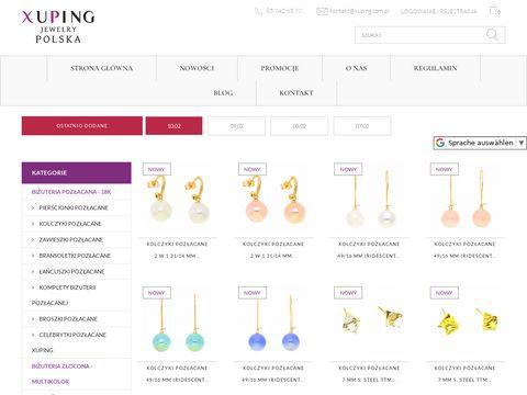 Xuping.com.pl sklep internetowy z biżuterią