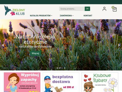 Zielonyklub.pl - surowce kosmetyczne
