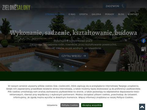 Zielonesalony.pl projektowanie ogrodów