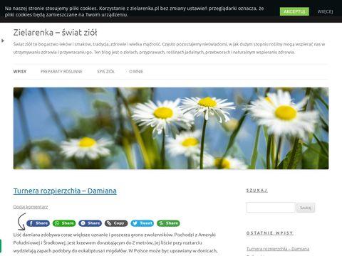 Zielarenka.pl blog o ziołach