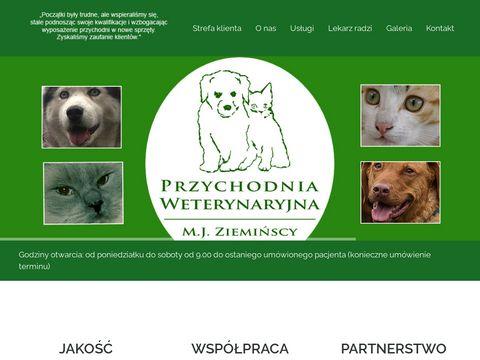 M. J. Ziemińscy Lecznica dla zwierząt