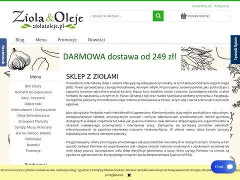 ZiolaiOleje.pl sklep